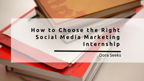 Social Media Marketing Internship? 5 Tips on How to Find the Right one