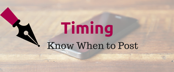 Know when are the best times to share your social media posts