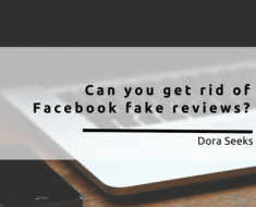 Can you get rid of Facebook fake reviews?