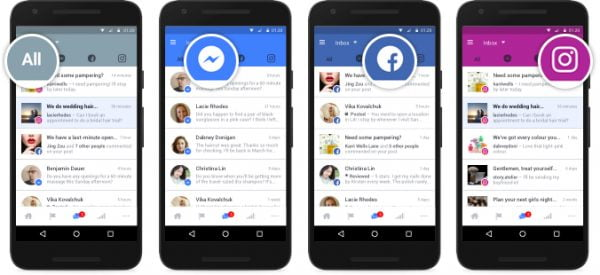 manage communications for your business across Facebook, Messenger and Instagram - Social Media News 2016