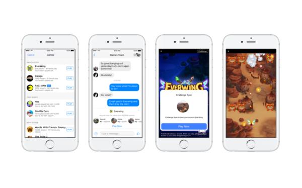 Facebook Introduces Instant Games on Messanger - Social Media News Recap 2016