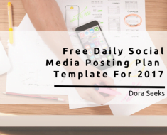 Free Daily Social Media Posting Plan Template for Social Media Managers