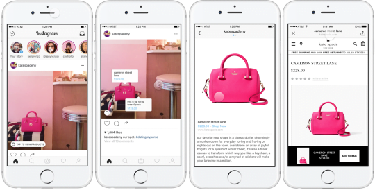 Instagram Shopping Tags are currently being tested - Social Media Marketing New Recap - November 2016