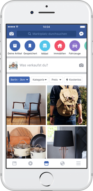 Facebook Marketplace expands to Europe