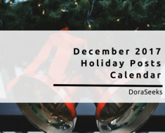 December 2017 Holiday Posts Calendar For Marketers