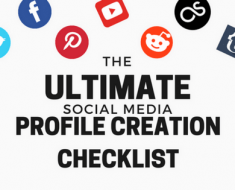 The Complete Social Media Profile Creation Checklist (Downloadable)